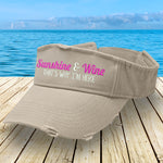Sunshine And Wine Visor