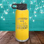 Trouble When We're Together Water Bottle