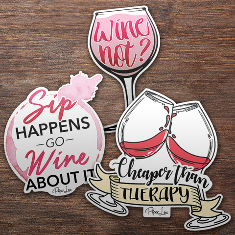 Wine Sticker Pack