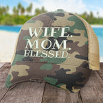 Wife Mom Blessed Hat