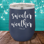 Sweater Weather 12oz Stemless Wine Cup