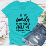 In This Family No One Fights Alone Ovarian Cancer