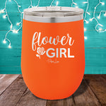 Flower Girl 12oz Stemless Wine Cup