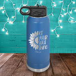 Let Your Soul Shine Water Bottle