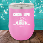 Cabin Life 12oz Stemless Wine Cup