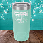 Warning The Sisters Drinking Again Laser Etched Tumbler
