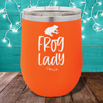 Frog Lady 12oz Stemless Wine Cup