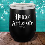 Happy Anniversary Harry Potter 12oz Stemless Wine Cup