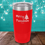 Merry Friendmas Laser Etched Tumbler