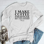 I Make Coffee Disappear Winter Apparel