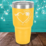 There Will Be An Answer Let It Be Laser Etched Tumbler