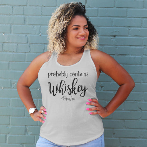 Probably Contains Whiskey Curvy Apparel
