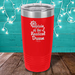 Captain Of The Nautical Dream Laser Etched Tumbler