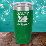 Salty Lil Beach Laser Etched Tumbler