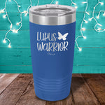 Lupus Warrior Laser Etched Tumbler