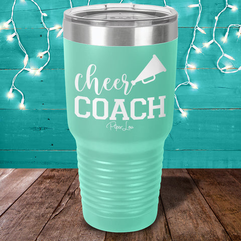 Cheer Coach Laser Etched Tumbler