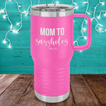 Mom To Sassholes 20oz Travel Mug