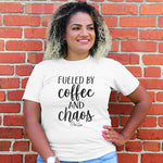 Fueled By Coffee And Chaos Curvy Apparel
