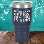 In The Land Of Pigs Laser Etched Tumbler