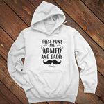 These Puns Are Armed And Dadly Men's Apparel