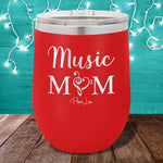 Music Mom 12oz Stemless Wine Cup