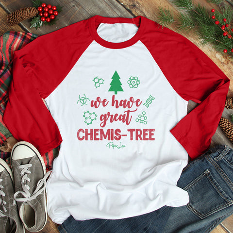 We Have Great Chemistree Christmas Raglan (UNISEX)