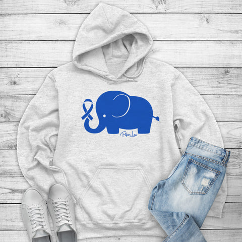 100% Donation - Colon Cancer - Elephant Ribbon Winter Apparel