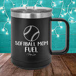 Softball Mom Fuel 15oz Coffee Mug Tumbler