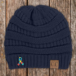 100% Donation - Autism Awareness Beanie