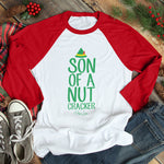 Son Of A Nutcracker Christmas Raglan (Unisex)