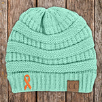 Multiple Sclerosis Awareness Knit Beanie