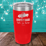 Country Roads Take Me Home Laser Etched Tumbler