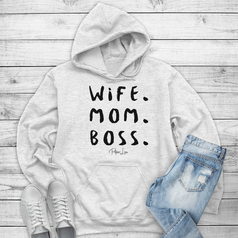 Wife Mom Boss Winter Apparel
