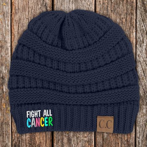 100% Donation - Fight All Cancer Beanie