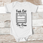 Baby Apparel - Fresh Out Of The Oven Baby Onesie