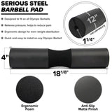 Serious Steel Barbell Pad (Hip Thrust Pad)