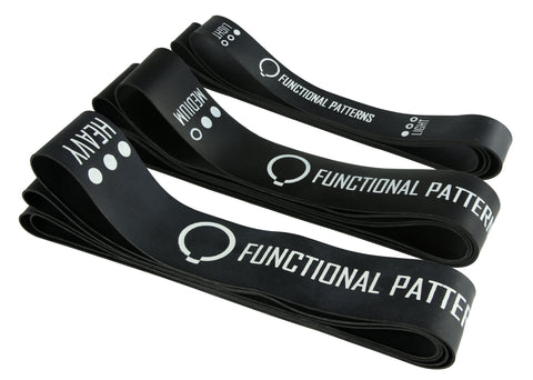 Functional Patterns - 3 Pack (Black 1.3mm Thick)