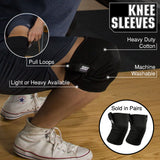 Serious Steel Fitness Knee Sleeves
