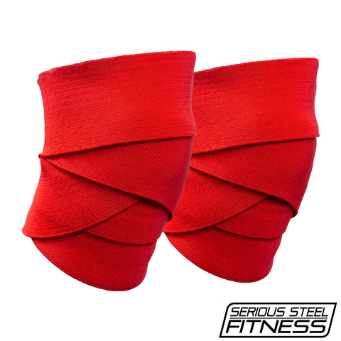 Serious Steel Comp Knee Wraps