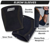 Serious Steel 5mm Neoprene Elbow Sleeves