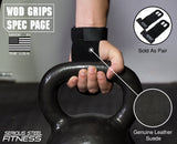 Serious Steel Pull-up Grips (Black)