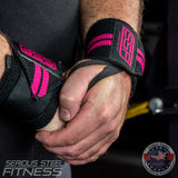 Serious Steel Pink Wrist Wraps