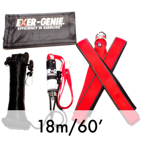 EXER-GENIE® Truck-in-a-Box 2x18m (60′) one X-Harness