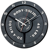 Body-Solid Strength Training Wall Clock