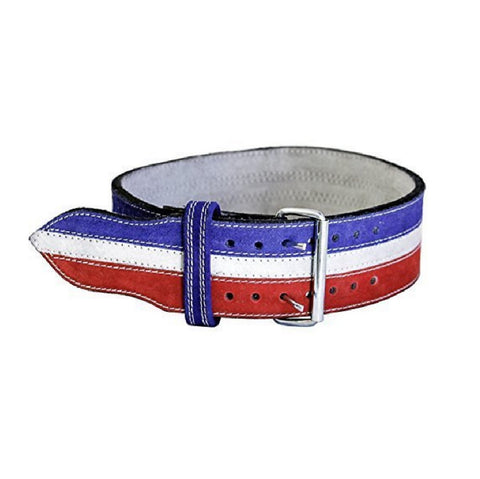 Serious Steel Red, White and Blue Powerlifting 10MM Belt