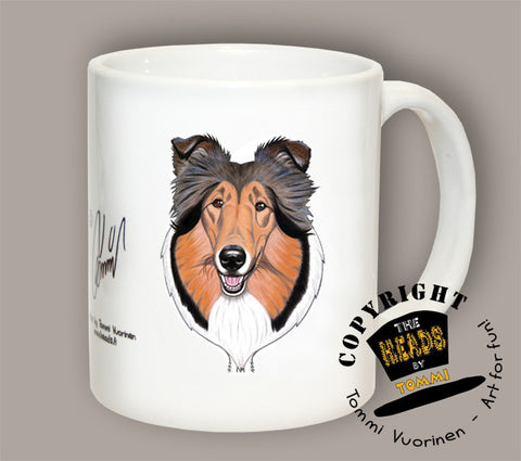 TAZA COLLIE SABLE