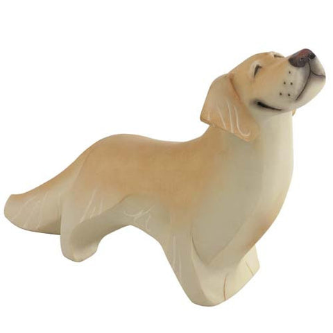 FIGURA DE MADERA GOLDEN RETRIEVER