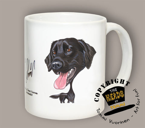 TAZA RETRIEVER DE PELO LARGO