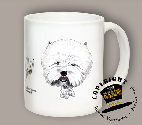 TAZA WEST HIGHLAND TERRIER