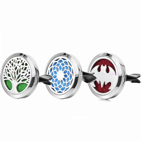 Stainless Steel Car Essential Oil Diffuser Clip